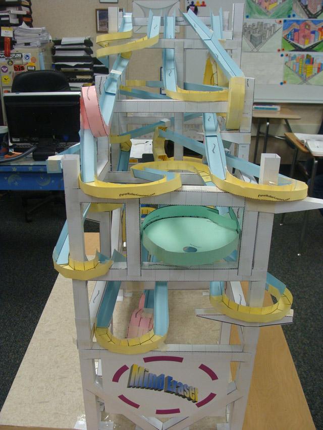 Paper Roller Coaster